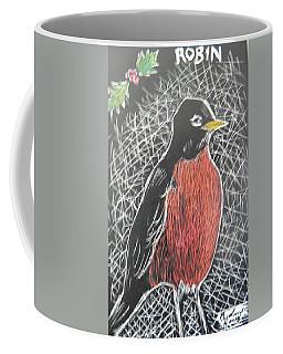 Christmas Robin Coffee Mug