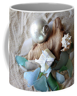 Christmas Seaglass Still Life Coffee Mug