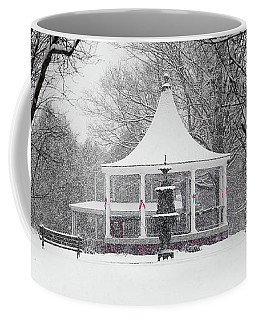 Christmas Season In The Park Coffee Mug