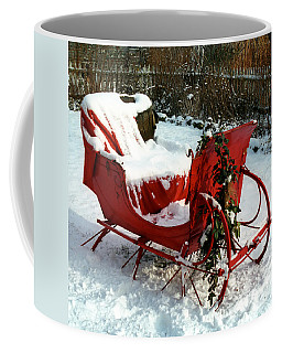 Christmas Sleigh Coffee Mug