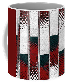 Christmas Snow Crystal Coffee Mug by Lenore Senior