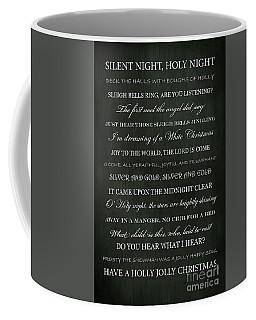Christmas Songs Coffee Mug