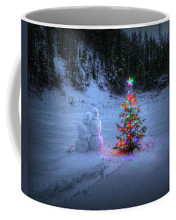 Christmas Spirit At Grouse Creek Coffee Mug