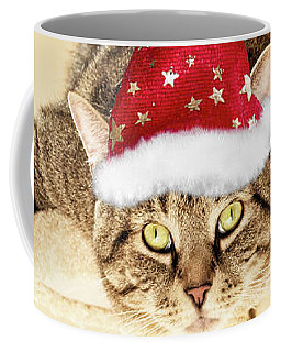 Christmas Splat Cat Coffee Mug