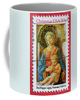 Christmas Stamp Coffee Mug