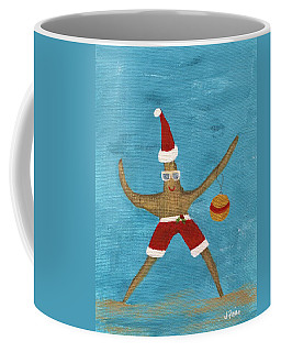 Christmas Starfish Coffee Mug by Jamie Frier