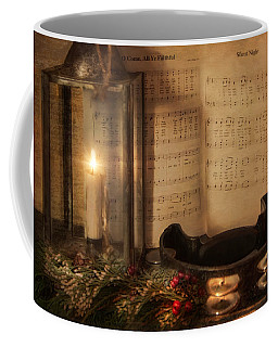 Christmas Tambourine Coffee Mug
