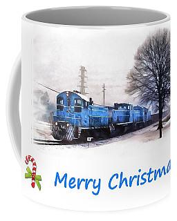 Christmas Train Coffee Mug