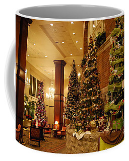 Coffee Mug featuring the photograph Christmas Tree by Eric Liller
