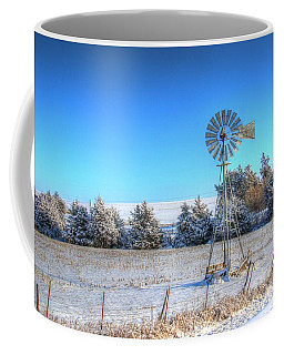 Christmas Trees In Iowa Coffee Mug