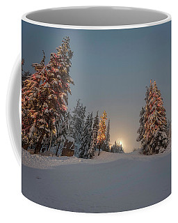 Christmas Trees  Coffee Mug by Sabine Edrissi