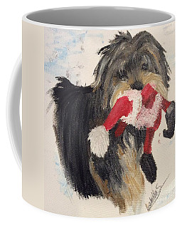 Christmas Yorkie Coffee Mug