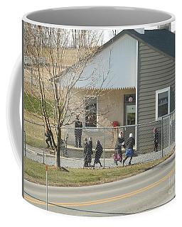 Christmastime At The Schoolhouse Coffee Mug