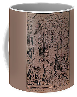 Christopher Colombus Discovering The Islands Of Margarita And Cubagua Where They Found Many Pearls Coffee Mug