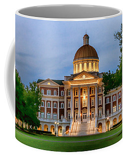 Coffee Mug featuring the photograph Christopher Newport Hall An Exquisite Jewel by Ola Allen