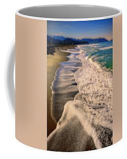 Chromatic Aberration At The Beach Coffee Mug