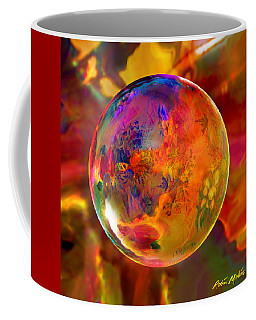 Chromatic Floral Sphere Coffee Mug