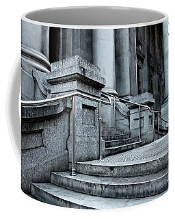 Chrome Balustrade Coffee Mug