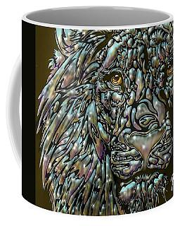 Chrome Lion Coffee Mug