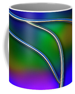 Coffee Mug featuring the photograph Chrome by Paul Wear