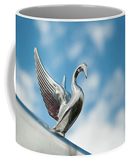 Chrome Swan Coffee Mug