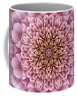 Chrysanthemum Kaleidoscope Coffee Mug