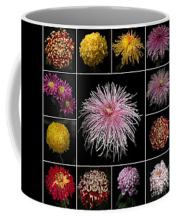 chrysanthemum Mosaic Coffee Mug