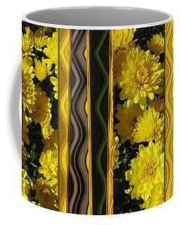 Chrysanthemums On Display Coffee Mug