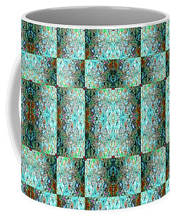 Coffee Mug featuring the mixed media Chuarts Epic Illusion 1b2 by Clark Ulysse