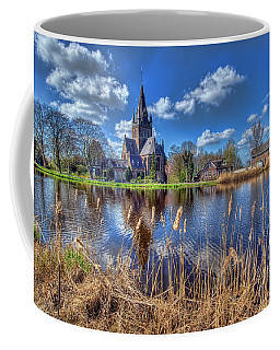 Church Along The Amstel River Coffee Mug