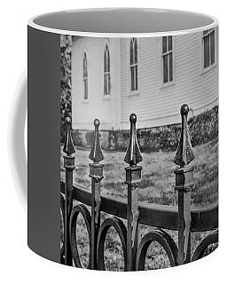 Church Fence Coffee Mug