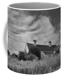 Church Hill Road Barn Coffee Mug by Guy Whiteley
