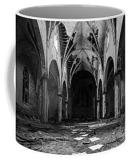 Church In Black And White Coffee Mug