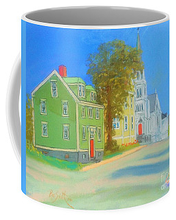 Church In Lunenburg Coffee Mug