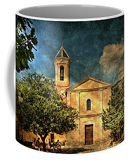 Church In Peillon Coffee Mug
