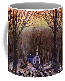 Church In The Woods  Coffee Mug
