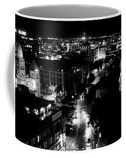 Coffee Mug featuring the photograph Church Nite by Robert McCubbin