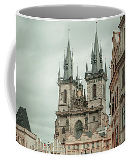 Coffee Mug featuring the photograph Church Of Our Lady Before Tyn by Jenny Rainbow