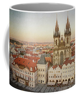 Coffee Mug featuring the photograph Church Of Our Lady Before Tyn by Joan Carroll