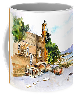 Church Of Primacy, Galilee Coffee Mug