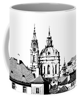 Church Of St Nikolas Coffee Mug