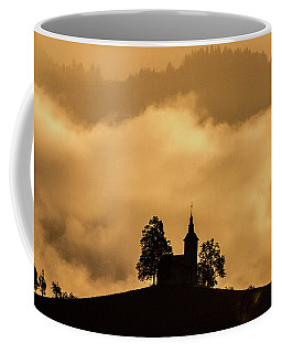 Coffee Mug featuring the photograph Church Of St. Thomas #2 - Slovenia by Stuart Litoff