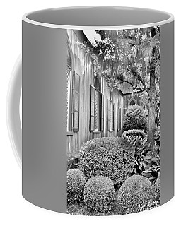 Church Of The Cross Bluffton Sc Black And White Coffee Mug
