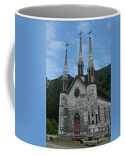 Coffee Mug featuring the photograph Church Of The Holy Cross by Rod Wiens