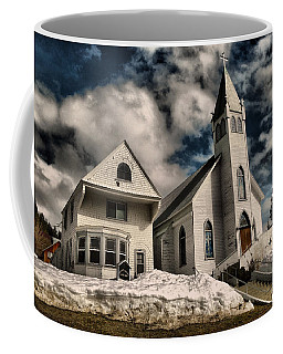 Coffee Mug featuring the photograph Church Of The Immaculate Conception Roslyn Wa by Jeff Swan