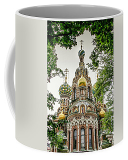 Church Of The Savior On Blood Coffee Mug