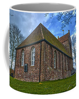 Church On The Mound Of Oostum Coffee Mug