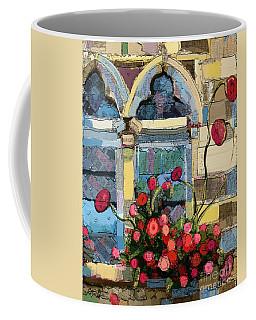 Church Window Coffee Mug by Carrie Joy Byrnes