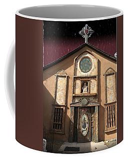 Church With Heartfelt Sky Coffee Mug