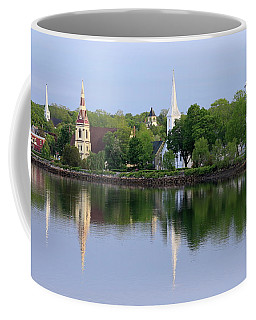 Churches, Mahone Bay, Nova Scotia Coffee Mug